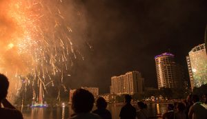 Fireworks at the Fountain 2016