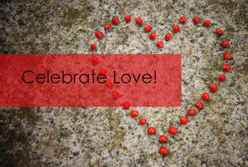 Celebrate Love - Valentines Day