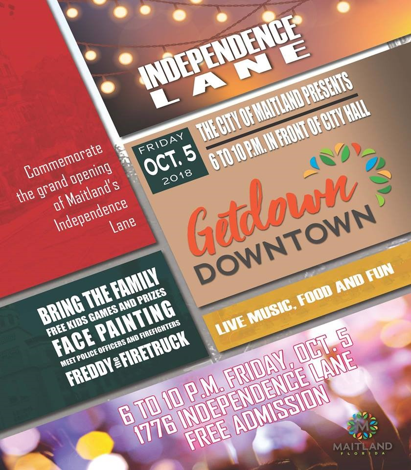 Getdown Downtown - A Grand Opening of Independence Lane!